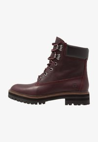 Timberland - LONDON SQUARE 6IN BOOT - Lace-up ankle boots - bordeaux - 1