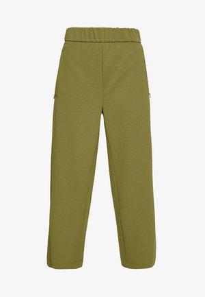 JDYHERO CATIA ANKLE - Trousers - martini olive/dtm trim