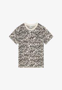 Puma - PUMA X ZALANDO TEE - T-shirt con stampa - silver birch - 2