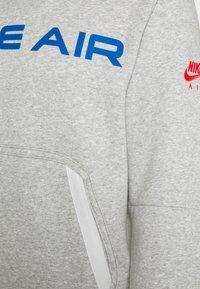 Nike Sportswear - AIR HOODIE - Hoodie - grey heather/summit white/infrared 23 - 5