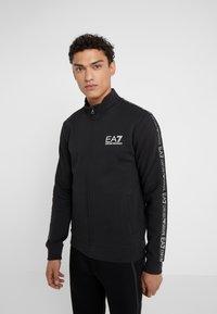 EA7 Emporio Armani - Zip-up hoodie - black - 0