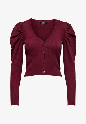 Cardigan - pomegranate
