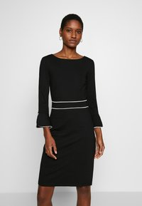 Anna Field - Shift dress - black/white - 0