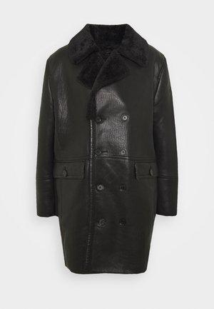 BEJORDAN - Classic coat - black