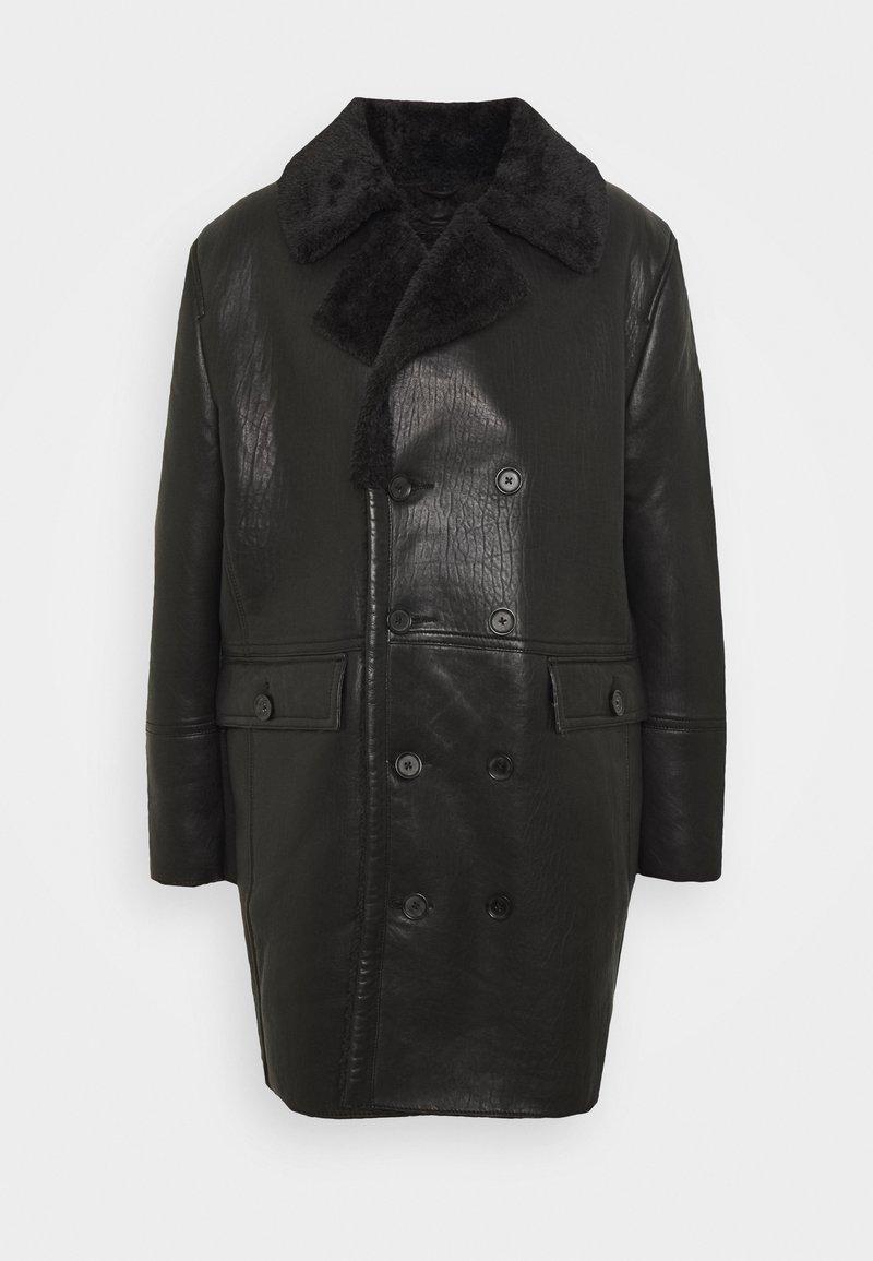 Be Edgy - BEJORDAN - Klasický kabát - black