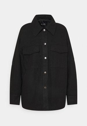 Summer jacket - black dark