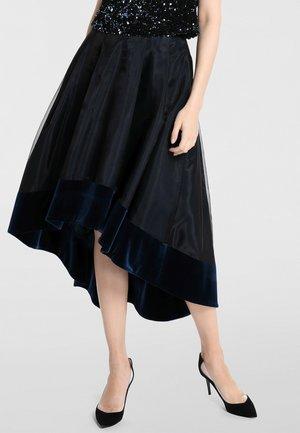 Pliceret nederdel /Nederdele med folder - teal