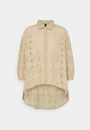 YASPRINA ICON - Button-down blouse - chinchilla