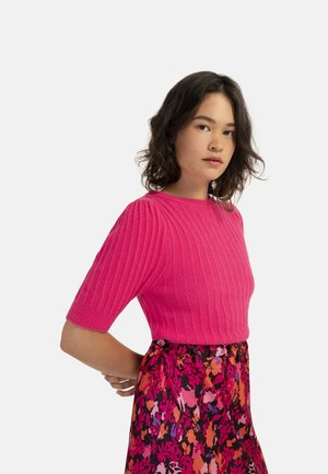 NALY - Basic T-shirt - fuchsia