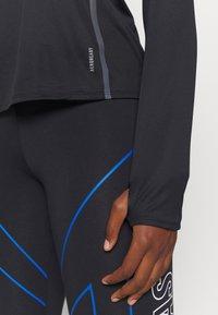 adidas Performance - REFLECTIVE - Camiseta de deporte - black - 6