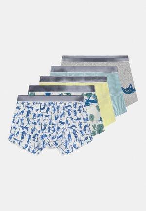 5 PACK - Onderbroeken - dark blue/white