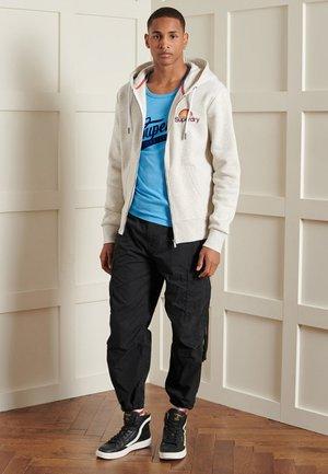 Zip-up hoodie - mcqueen marl