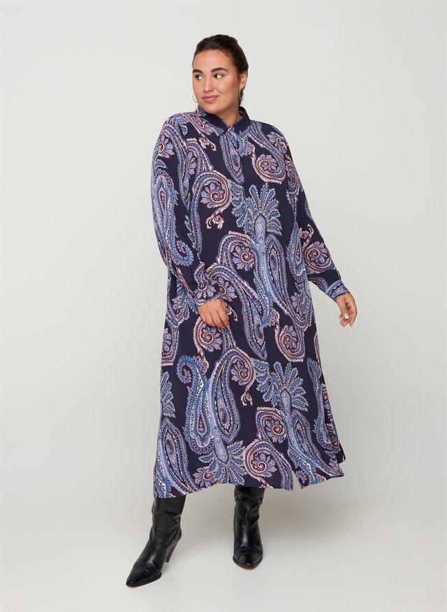 Robe chemise - blue
