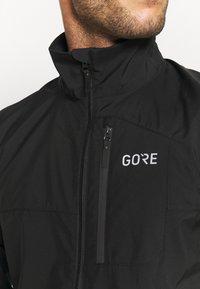 Gore Wear - GORE® WEAR SPIRIT JACKET MENS - Trainingsjacke - black - 3