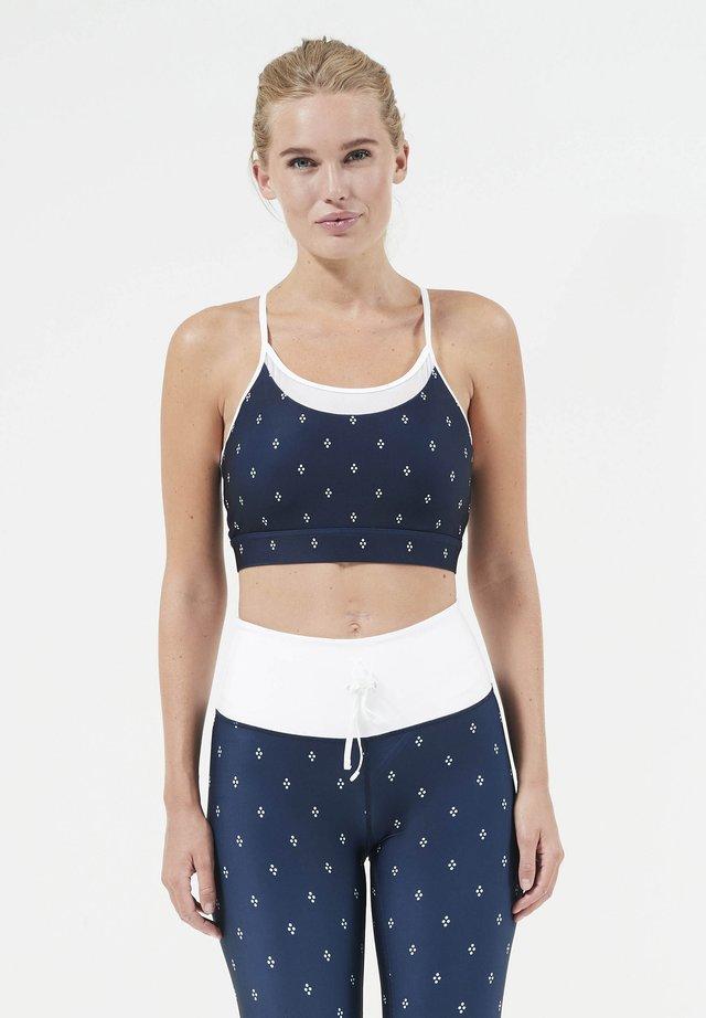 Sports bra - dark blue