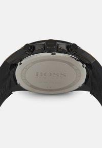 BOSS - DISTINCT - Kronografklokke - black - 2