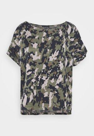 SOMIA - T-shirt con stampa - dark green