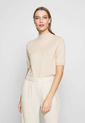 EVELYN - T-shirt basic - ecru