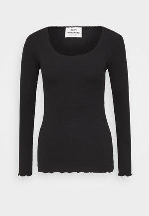 TALUNA - Langarmshirt - black