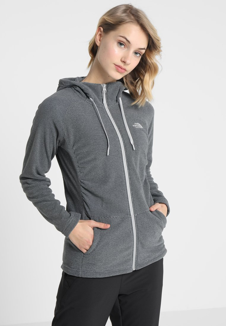 The North Face - MEZZALUNA - Fleece jacket - black
