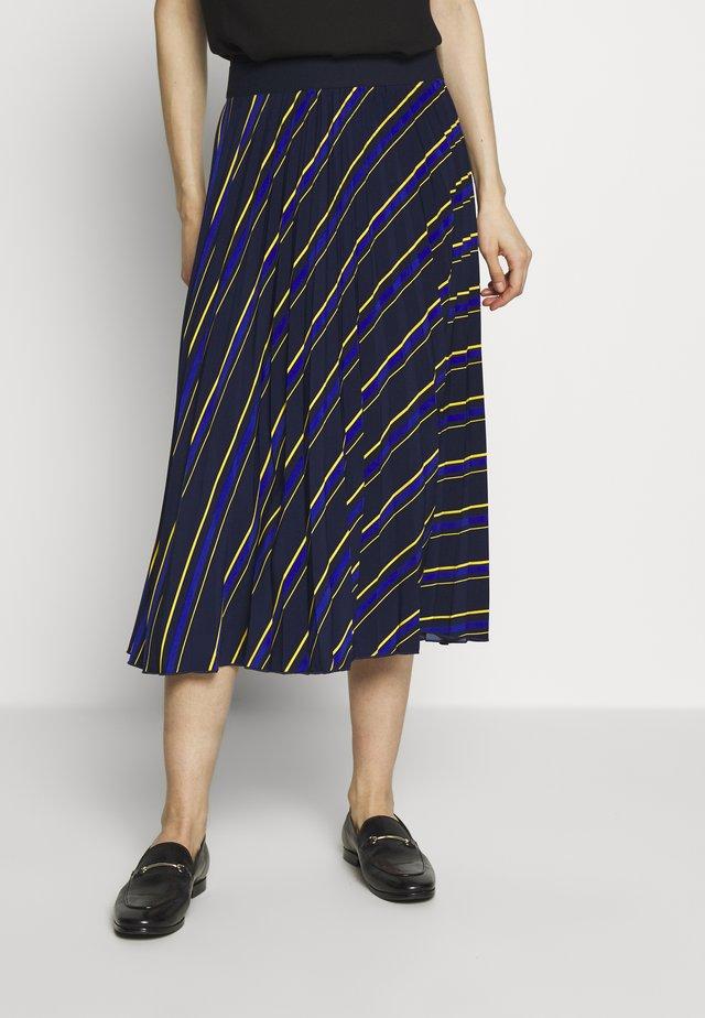 LASTREET - A-snit nederdel/ A-formede nederdele - dark blue