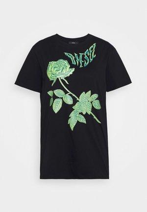 DARIA - Print T-shirt - black