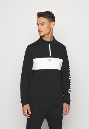LINEAR LOGO SET - Tracksuit - black