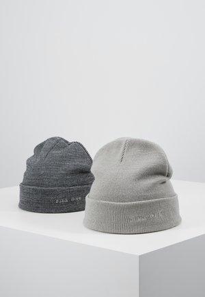 2PACK - Mössa - light grey/dark blue
