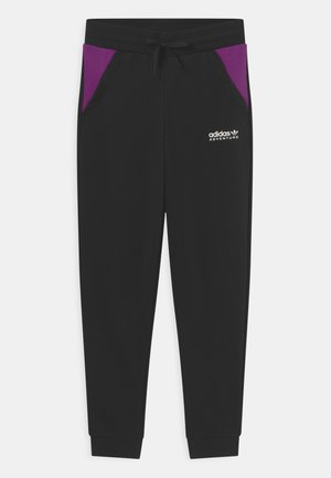 UNISEX - Træningsbukser - black/glory purple