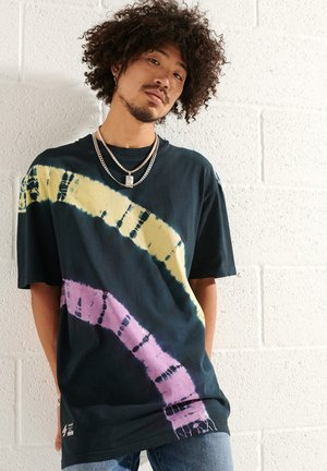 UNISEX TIE DYE - T-shirt print - deep navy/multi