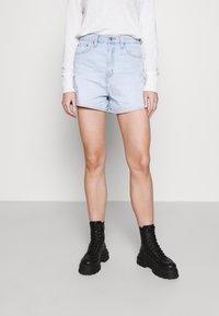Levi's® - HIGH LOOSE - Denim shorts - supa dupa fly - 0