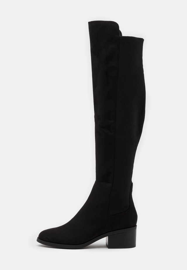 GRAPHITE - Over-the-knee boots - black
