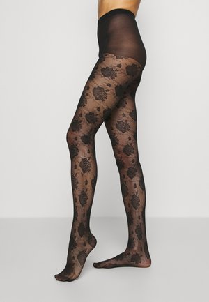 ROSE COUTURE TIGHT STYLE - Tights - black