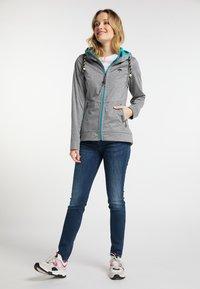 Schmuddelwedda - Outdoor jacket - gray melange - 1