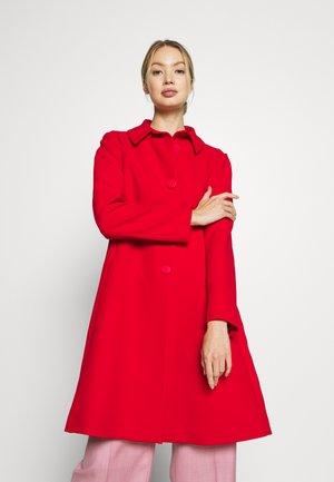 COAT - Classic coat - red