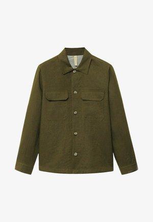 UENO - Košile - khaki