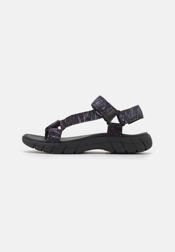 K-TRAMP - Sandales de randonnée - jet black