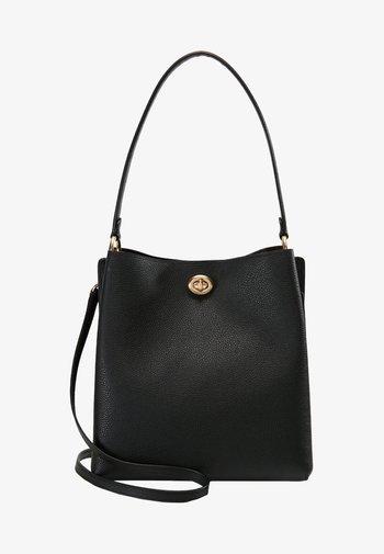POLISHED CHARLIE BUCKET - Handbag - black