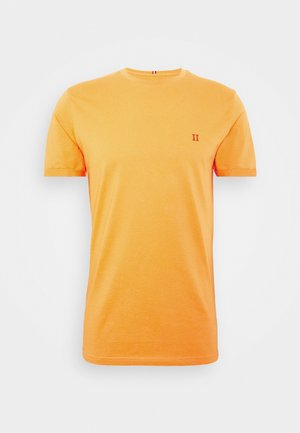 NØRREGAARD - Basic T-shirt - dark papaya/orange