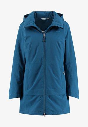 HOKKSUND - Waterproof jacket - petrol