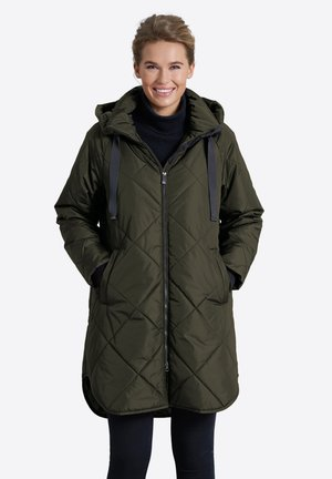 Down coat - forest