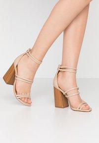 Call it Spring - GUVEN - High heeled sandals - bone - 0
