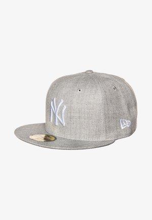 59FIFTY MLB NEW YORK YANKEES - Cap - heather grey/white