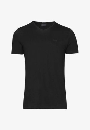 "BOSS HERREN T-SHIRT ""CANISTRO 80"" REGULAR FIT - Basic T-shirt - black"