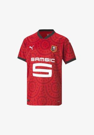 PUMA STADE RENNAIS HOME REPLICA - Print T-shirt - puma red-puma black