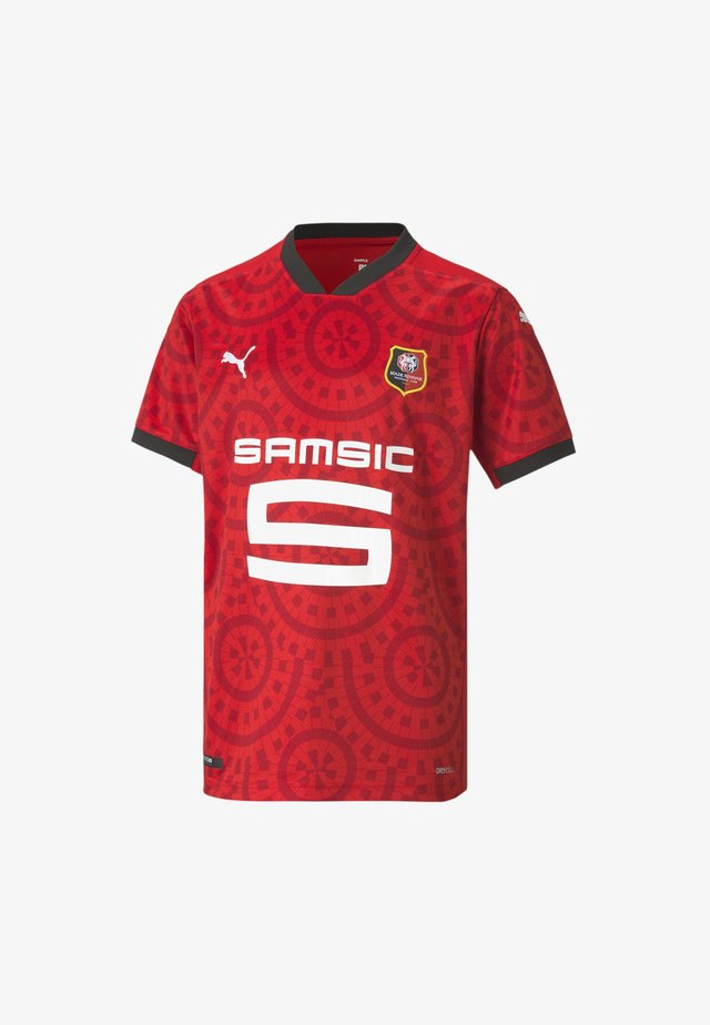 PUMA STADE RENNAIS HOME REPLICA - Print T-shirt - puma red-puma black