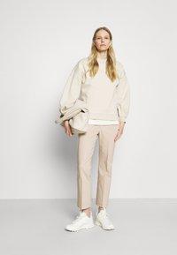 InWear - ZELLA KICKFLARE PANT - Trousers - sandstone - 1