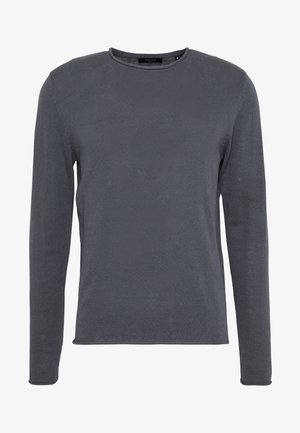 JPRBLALINEN CREW NECK - Sweter - dark dusty blue