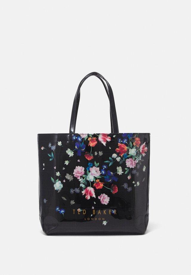 SANDALWOOD LARGE ICON - Shoppingväska - black