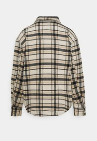 Vila - VIRUBI CHECK JACKET - Summer jacket - birch/white/black - 1